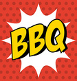 Delicious barbecue barbeque vector