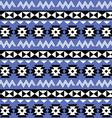 Tribal aztec seamless pattern on purple background vector