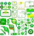 Eco elements vector