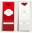 Elegant invitation card vector
