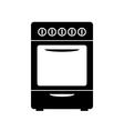 Stove icon vector