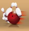 Bowling sport vector