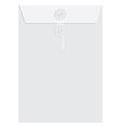 White sealed envelope vector