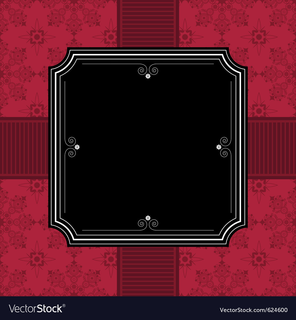 Frame decoration vector | Price: 1 Credit (USD $1)
