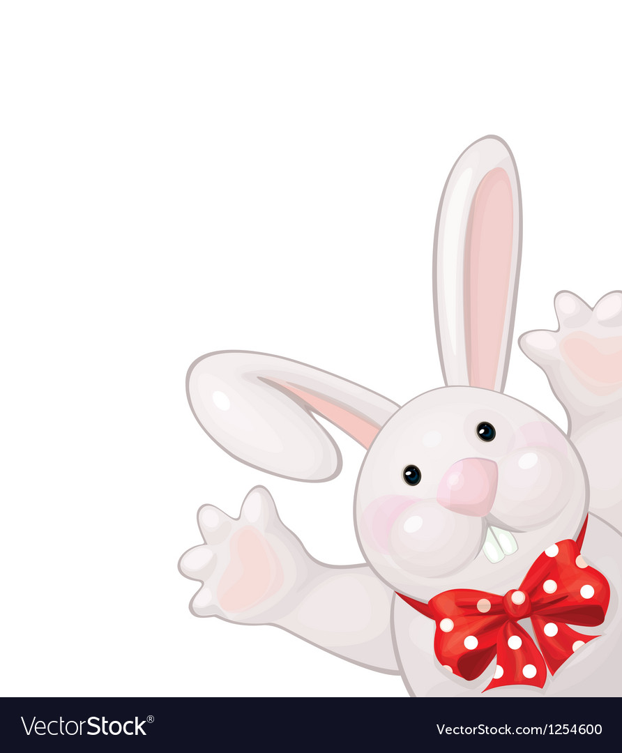 Funny rabbit vector | Price: 3 Credit (USD $3)