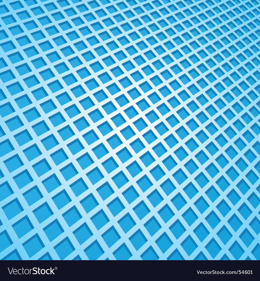 Abstract blue square background vector | Price: 1 Credit (USD $1)