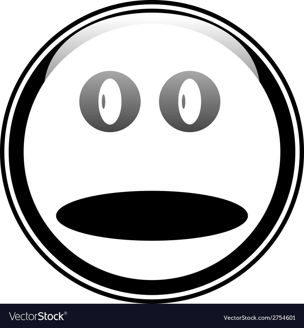 Smile face button vector   Price: 1 Credit (USD $1)