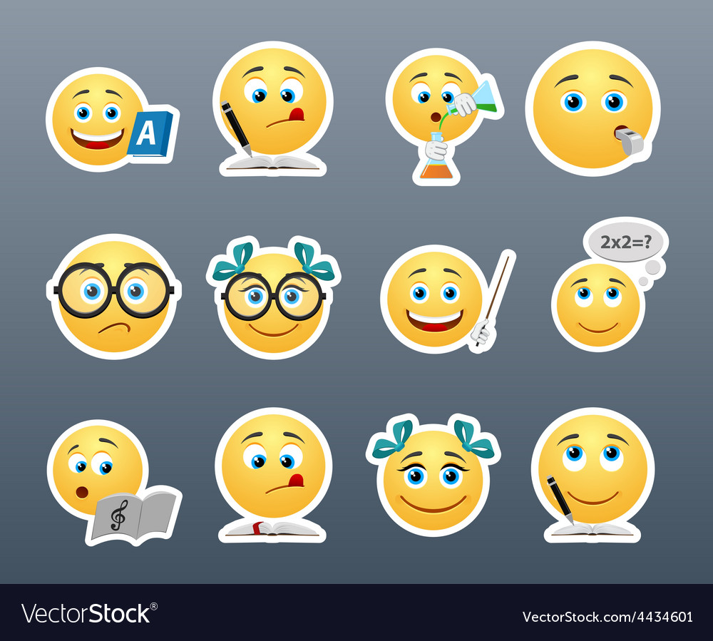 Smiles on the lessons vector | Price: 1 Credit (USD $1)