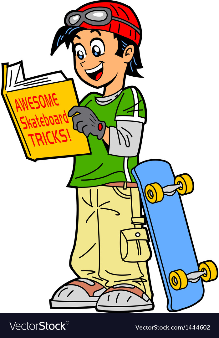 Skateboard tricks vector | Price: 1 Credit (USD $1)
