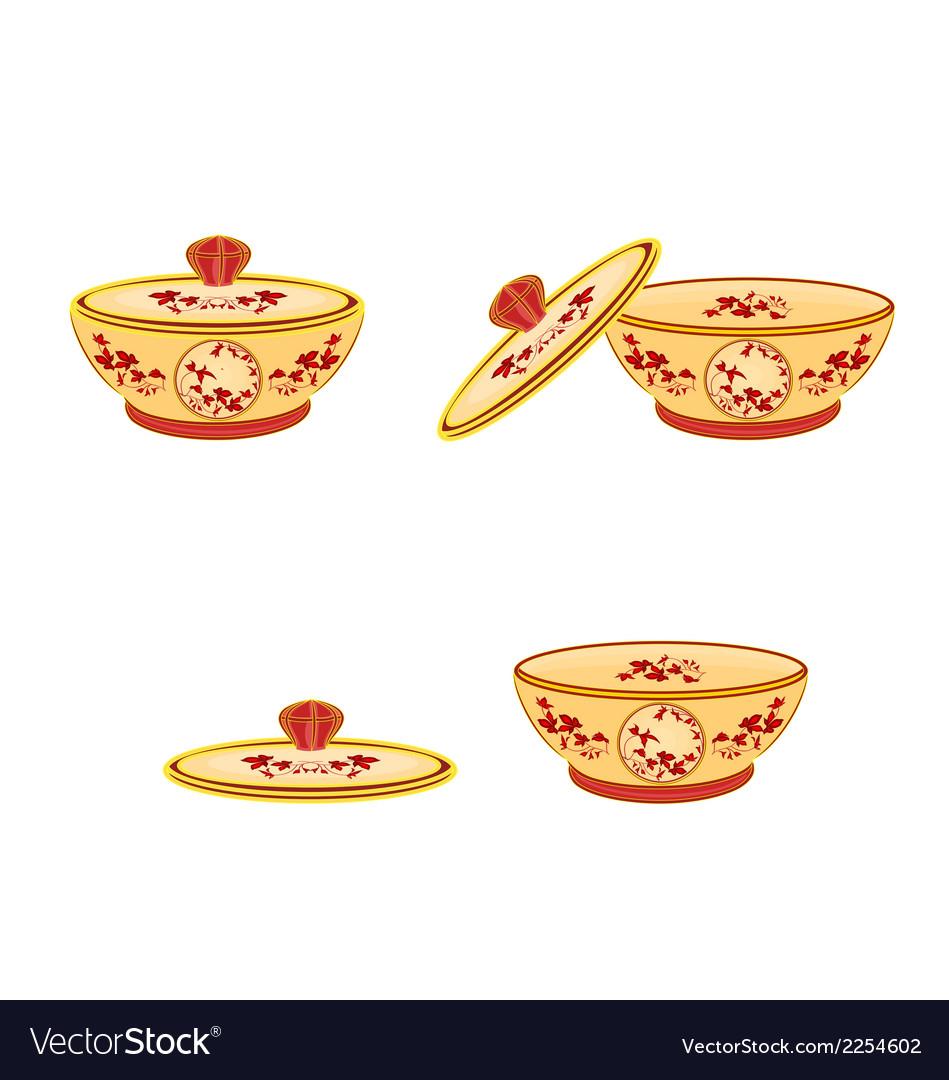Sugar-bowl vector | Price: 1 Credit (USD $1)