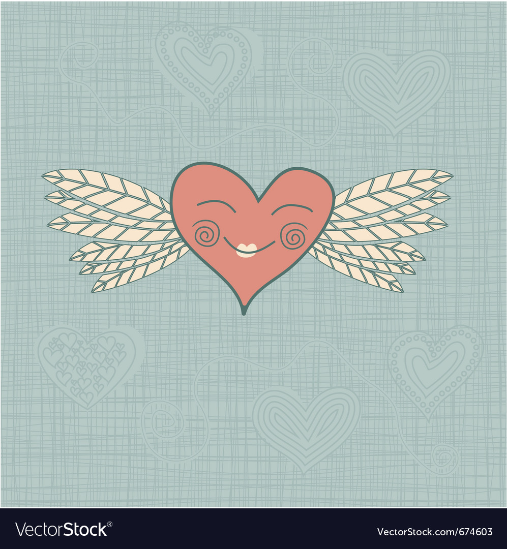 Heart pastel vector | Price: 1 Credit (USD $1)