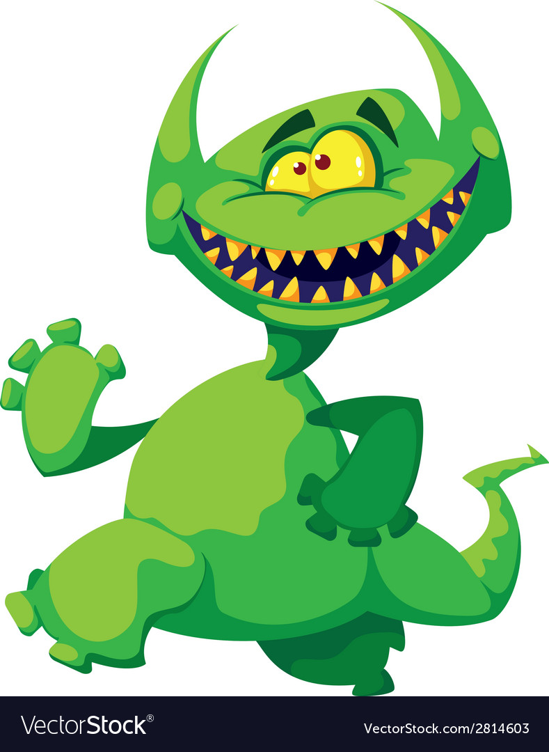 Monster smile vector | Price: 3 Credit (USD $3)