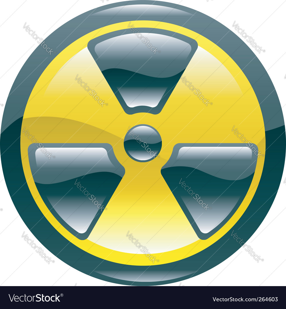 Radiation icon vector | Price: 1 Credit (USD $1)