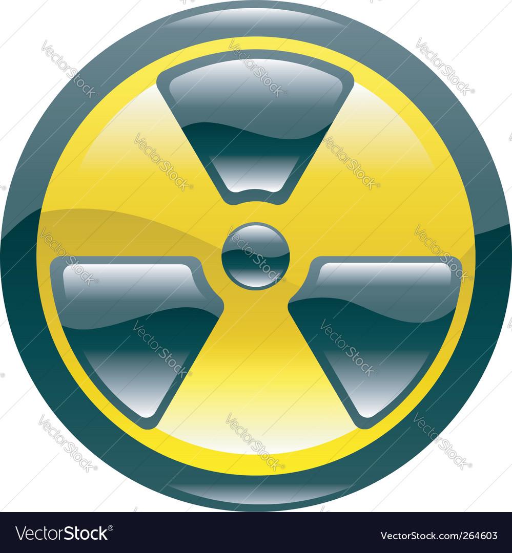 Radiation icon vector | Price: 1 Credit (USD $1)