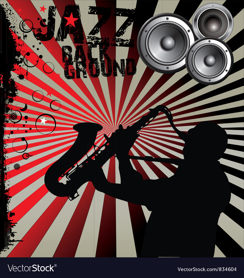 Jazz music background vector | Price: 1 Credit (USD $1)