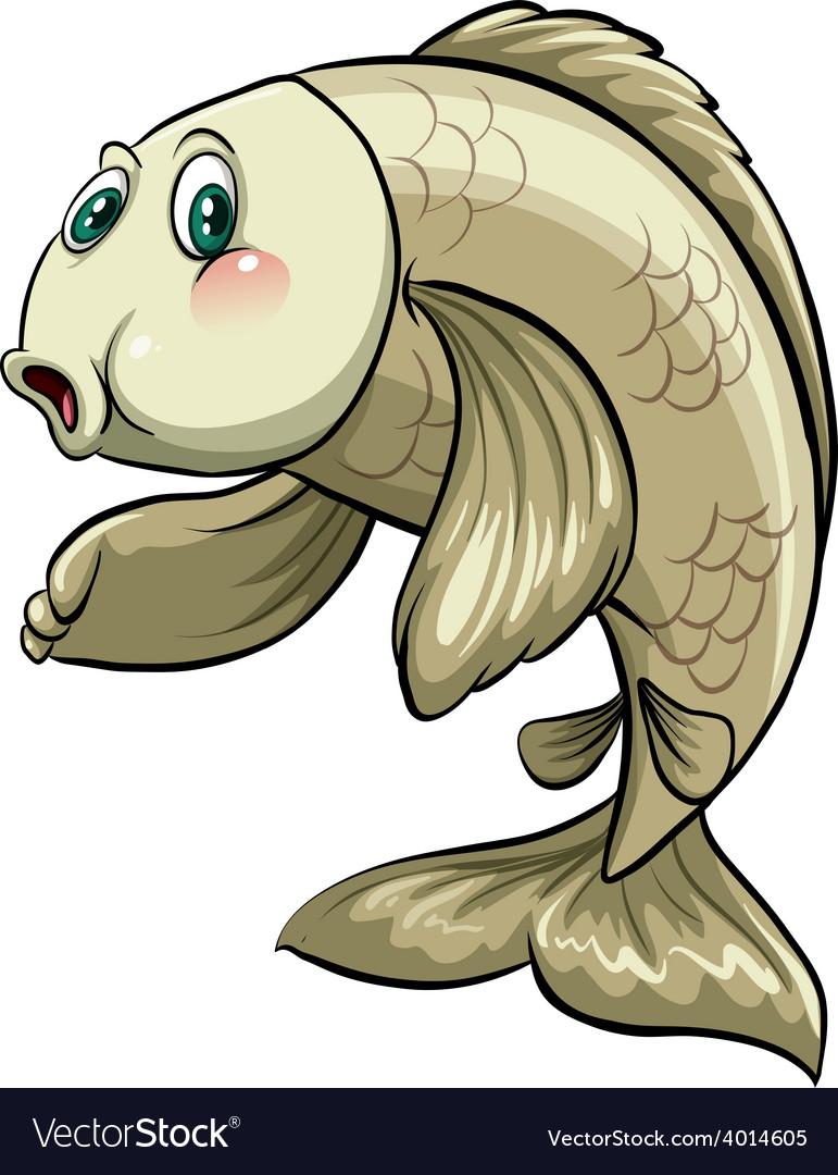 Big aquatic animal vector | Price: 3 Credit (USD $3)