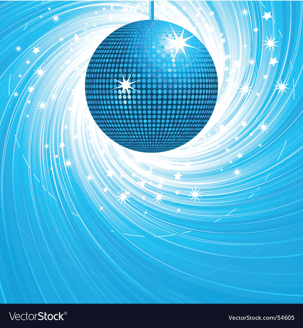 Disco ball swirl vector   Price: 1 Credit (USD $1)