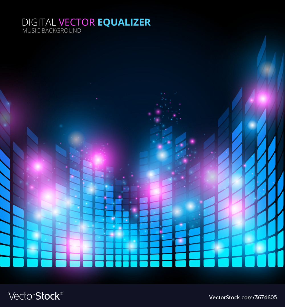 Music equalizer vector | Price: 1 Credit (USD $1)