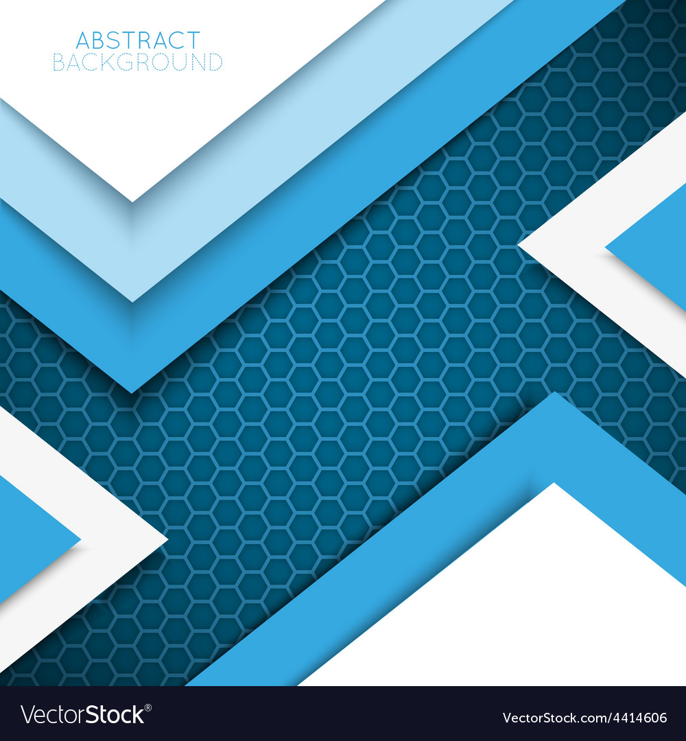 Abstract background multicolored shapes shadow vector