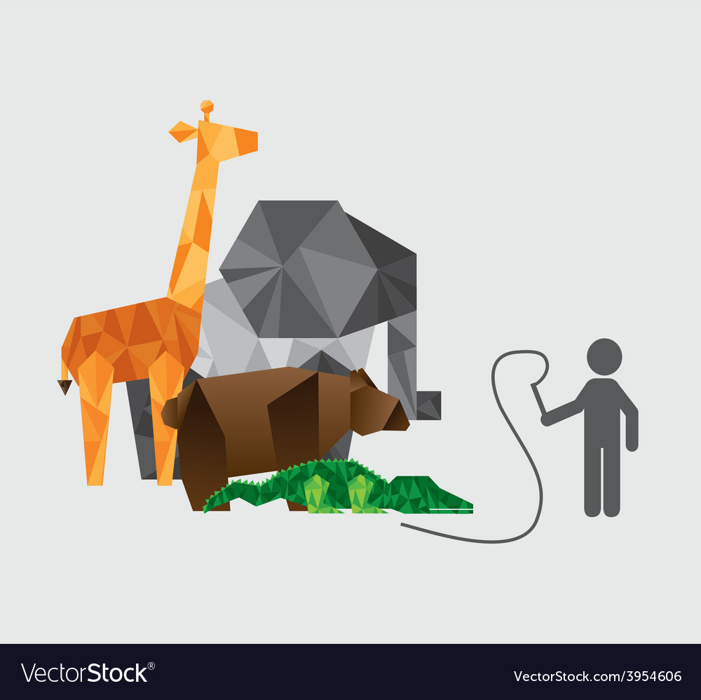 Animal abstract vector   Price: 1 Credit (USD $1)