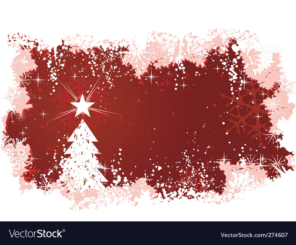 Christmas tree background vector   Price: 1 Credit (USD $1)