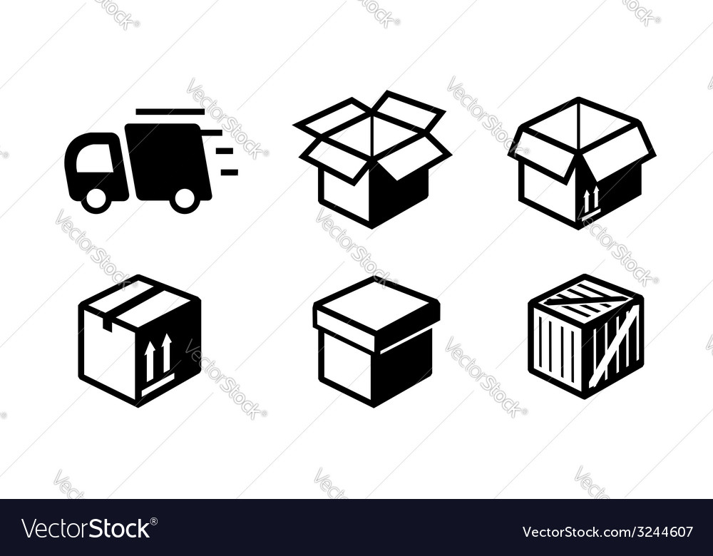 Shipping icon vector | Price: 1 Credit (USD $1)