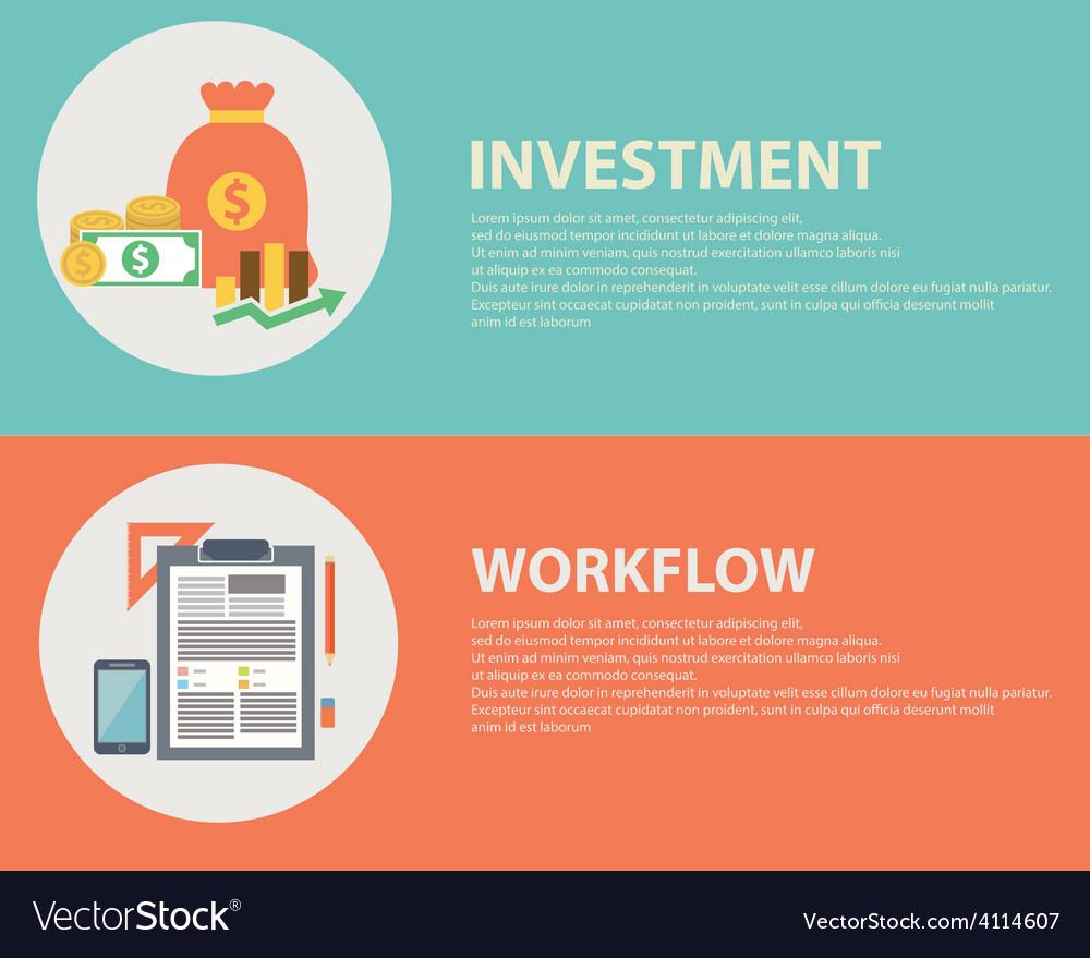 Work flow vector   Price: 1 Credit (USD $1)