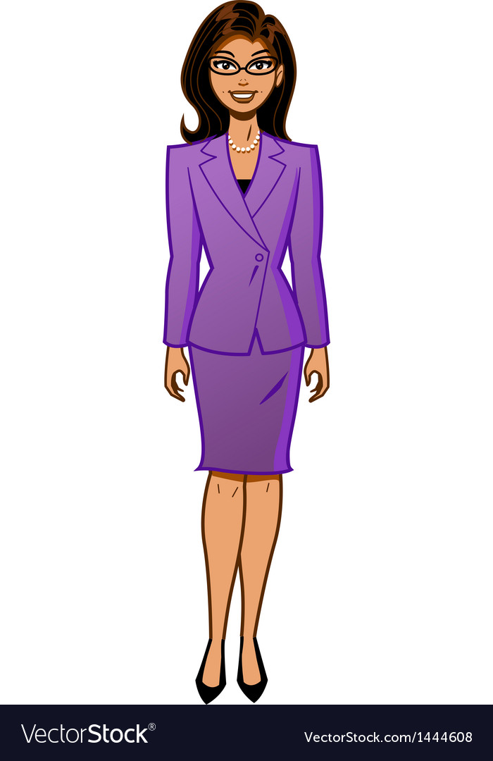 Attractive businesswoman vector | Price: 1 Credit (USD $1)
