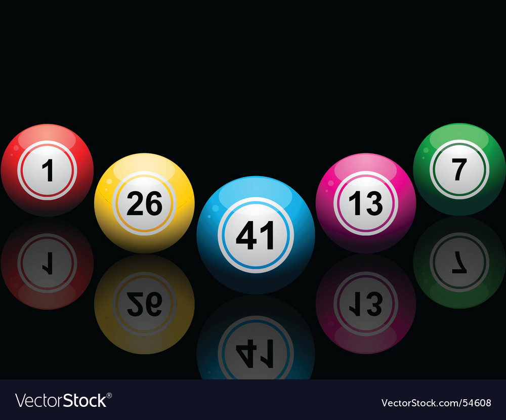 Lottery balls vector | Price: 1 Credit (USD $1)