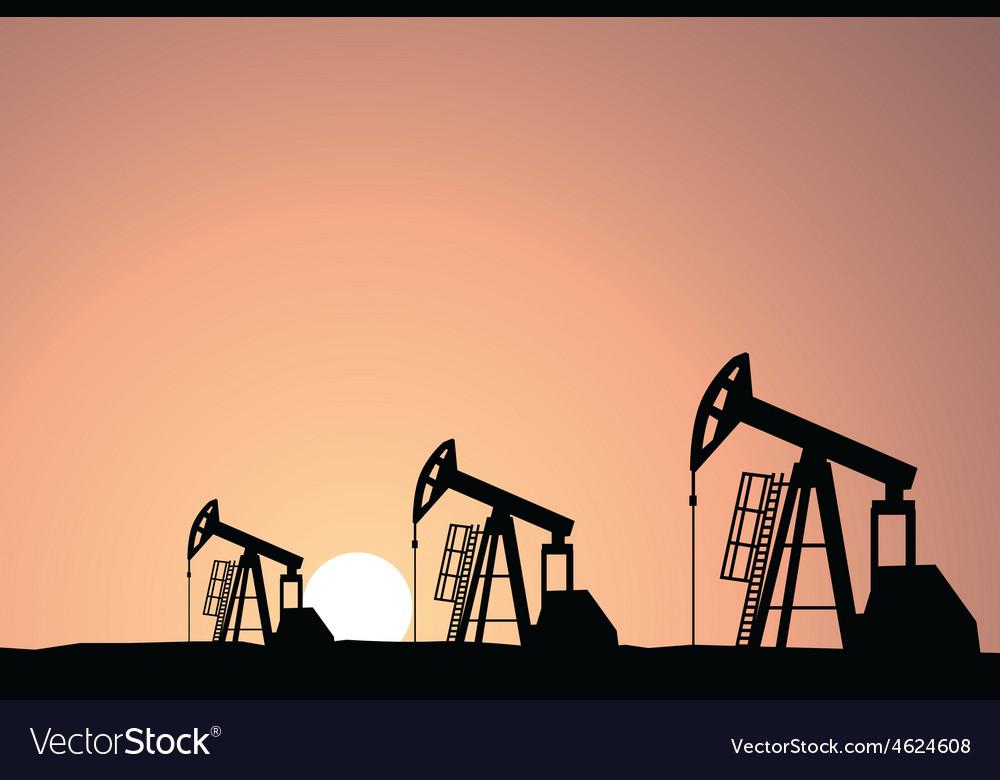 Oil rig vector   Price: 1 Credit (USD $1)