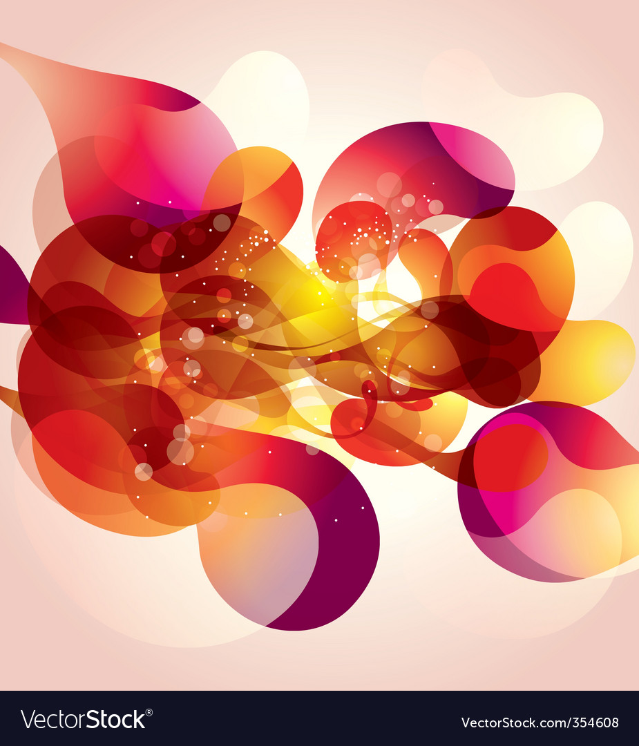 Psychedelic abstract vector | Price: 1 Credit (USD $1)