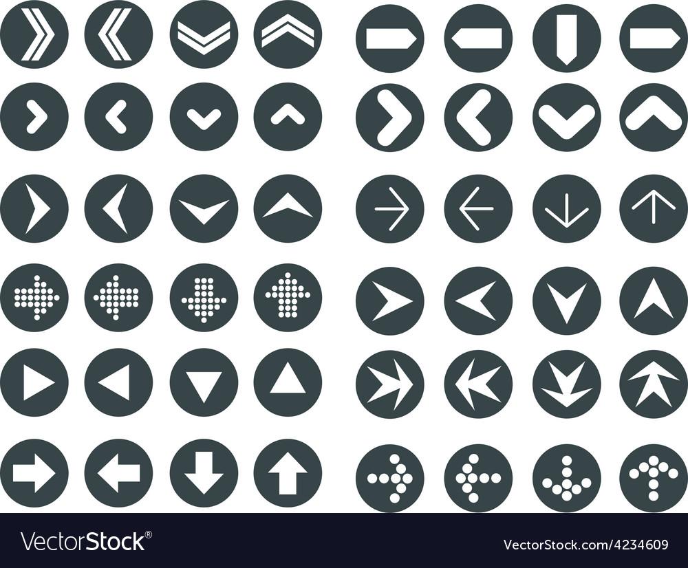 Arrows set vector   Price: 1 Credit (USD $1)