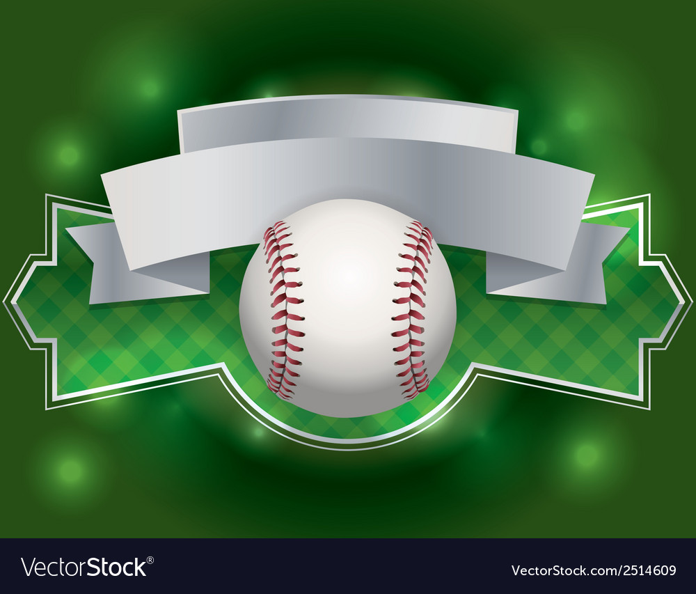 Baseball label vector | Price: 1 Credit (USD $1)