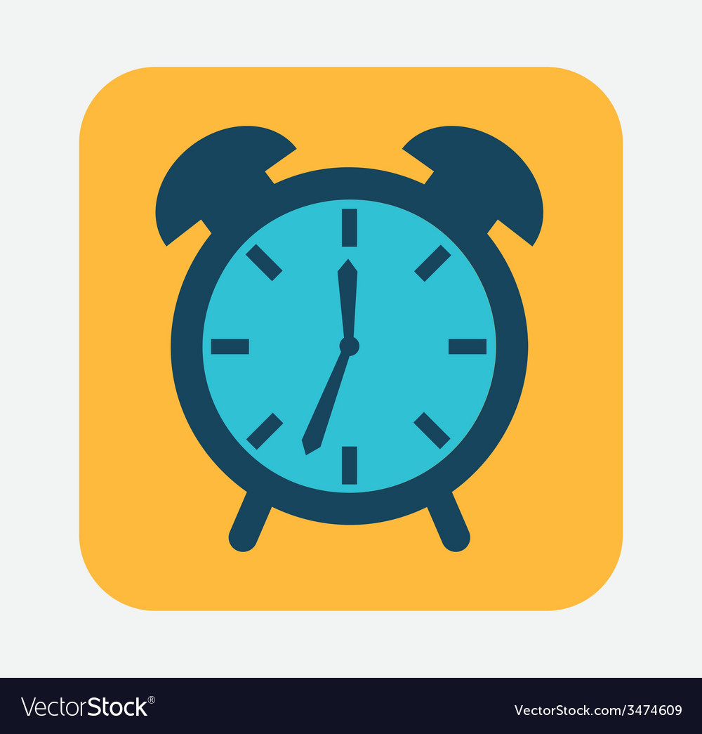 Clock design vector | Price: 1 Credit (USD $1)