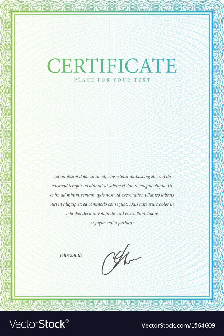 Template certificate currency and diplomas vector | Price: 1 Credit (USD $1)