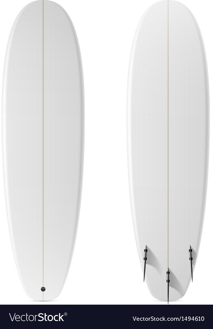 Blank surfboard vector   Price: 1 Credit (USD $1)