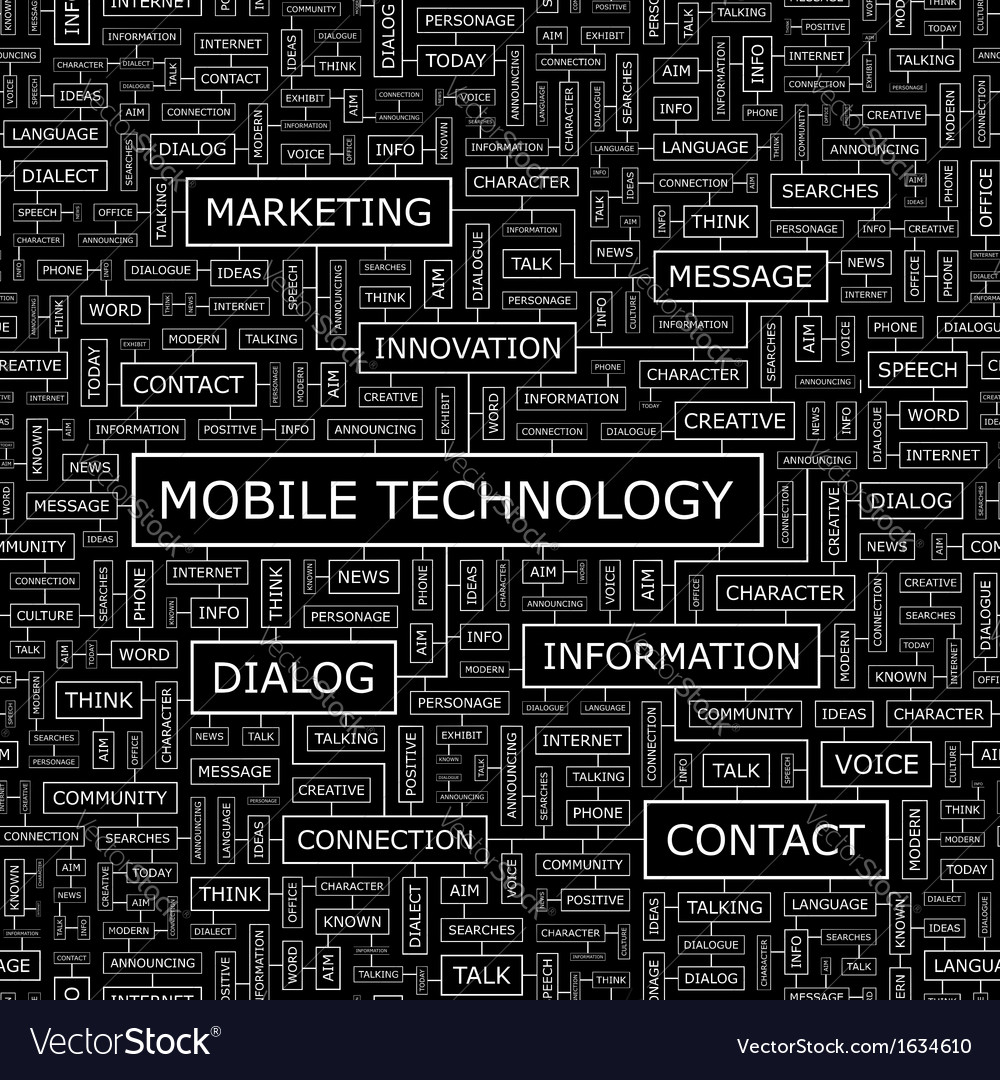 Mobile technology vector | Price: 1 Credit (USD $1)