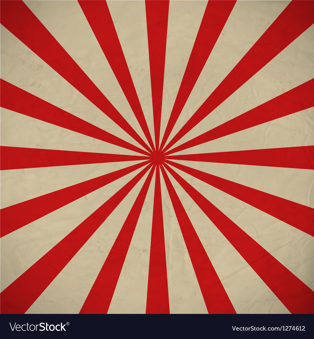 Retro sunbeams background vector | Price: 1 Credit (USD $1)