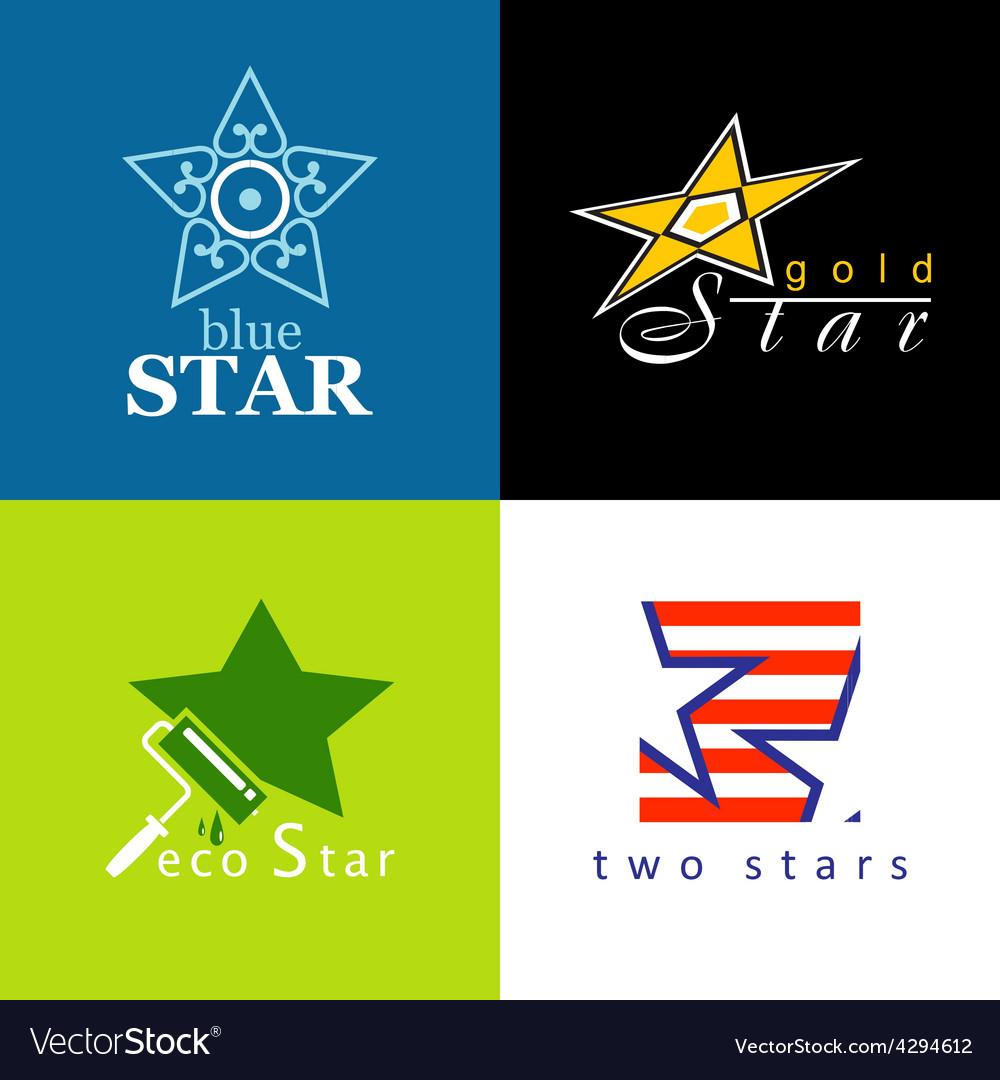 Symbols star vector | Price: 1 Credit (USD $1)