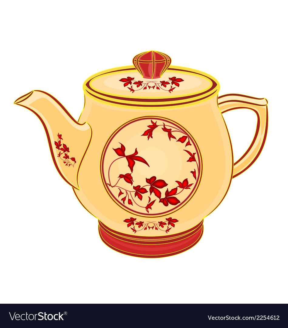 Teapot vector | Price: 1 Credit (USD $1)