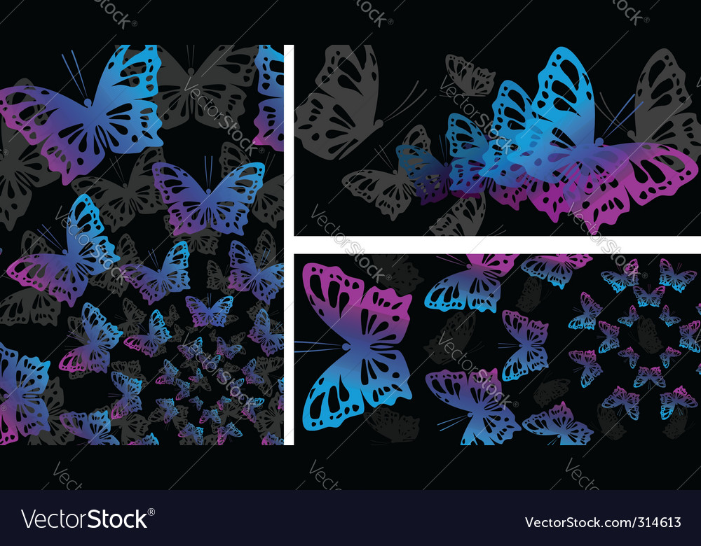 Abstract butterly design vector | Price: 1 Credit (USD $1)