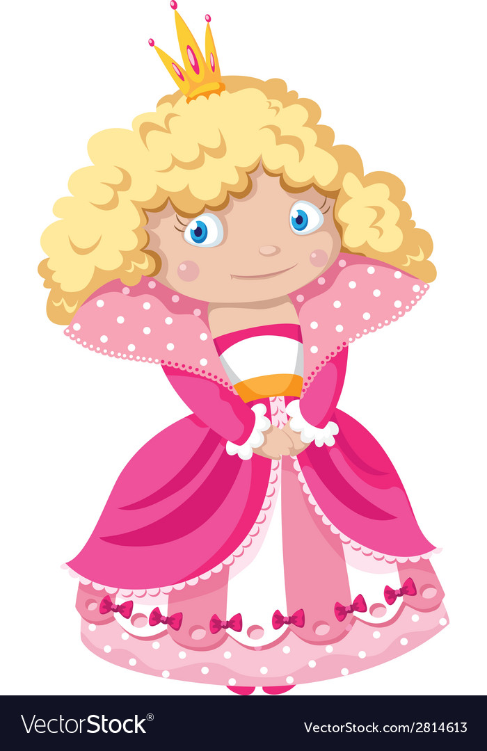 Little princess vector | Price: 3 Credit (USD $3)