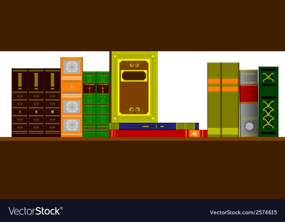 6206 bookshelf vector | Price: 1 Credit (USD $1)