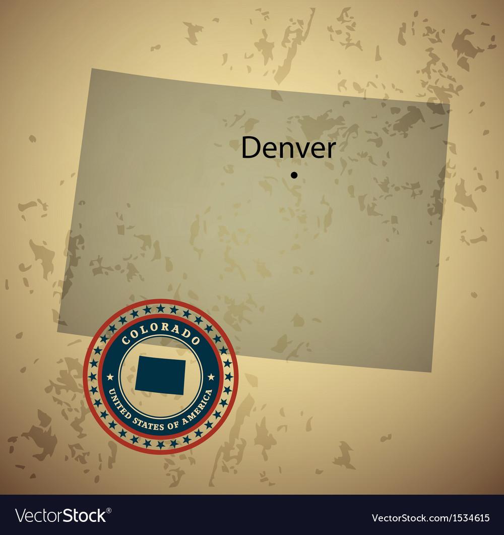 Colorado vector | Price: 1 Credit (USD $1)