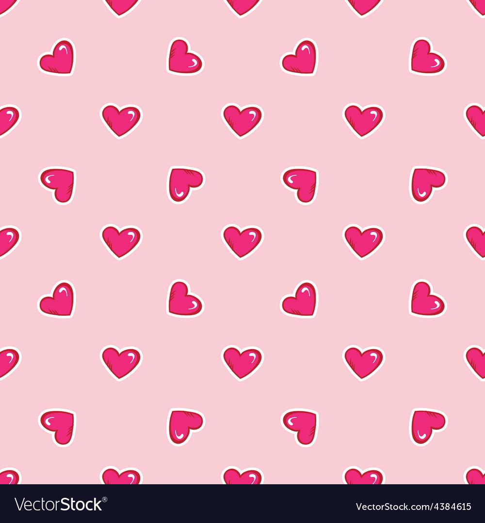 Doodle hand drawn saint valentine day vector | Price: 1 Credit (USD $1)