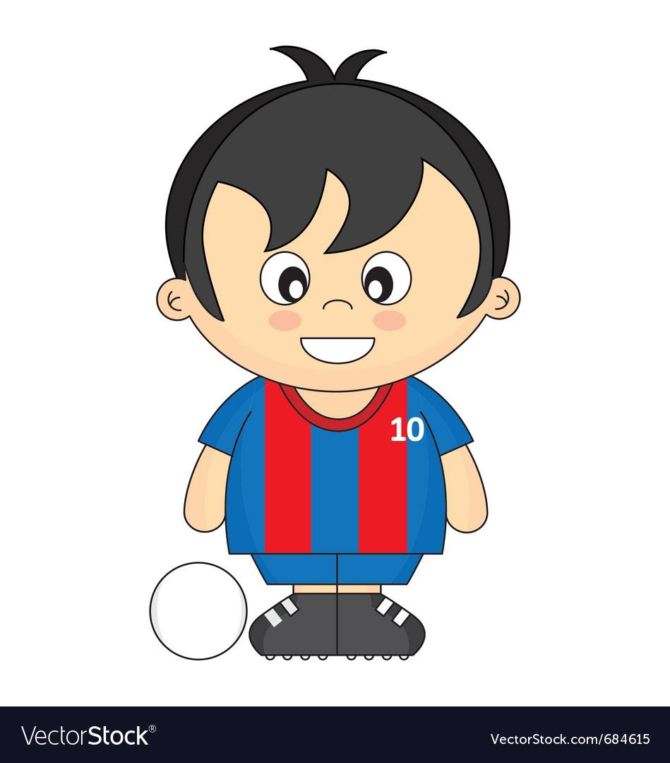 Kids soccer vector | Price: 1 Credit (USD $1)