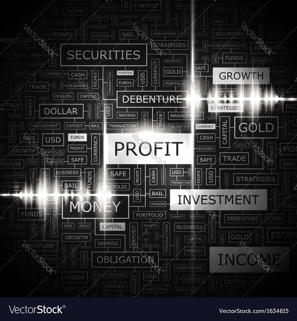 Profit vector | Price: 1 Credit (USD $1)