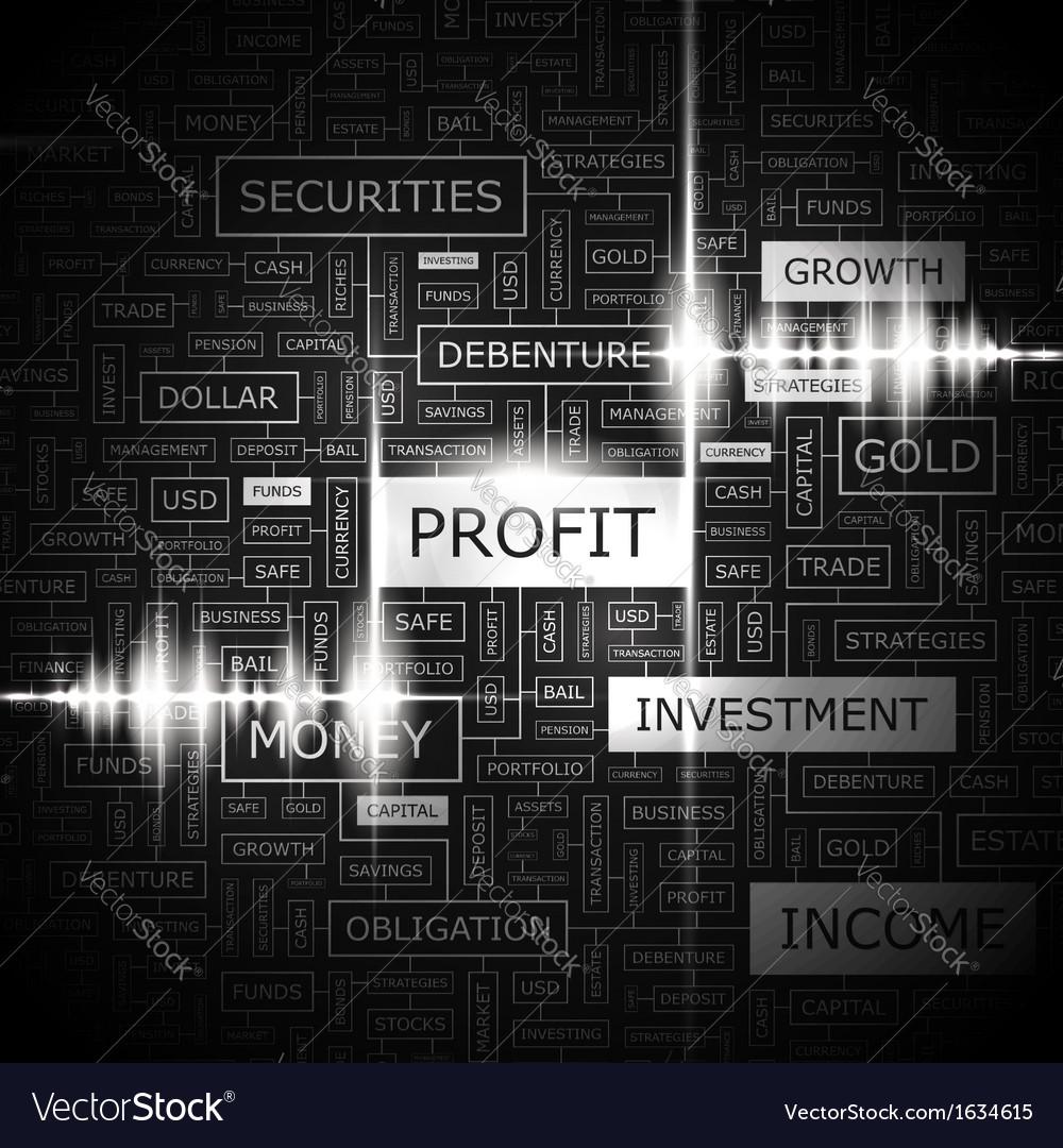 Profit vector | Price: 1 Credit (USD $1)
