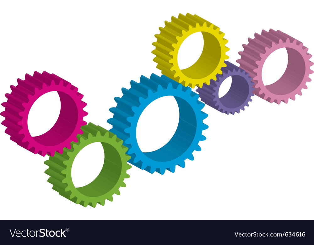 Cog-wheel vector | Price: 1 Credit (USD $1)