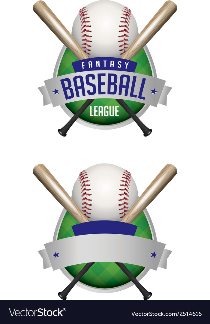 Fantasy baseball draft vector | Price: 1 Credit (USD $1)